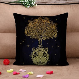 Ultra Soft Chic Tree Design Throw Pillow Case
