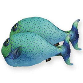 Lifelike 3D Fish Design Decorative Throw Pillow