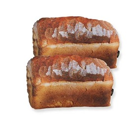 Fancy Delicious Bread Design Decorative Throw Pillow