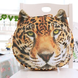 Vivid 3D Leopard Shape Design Throw Pillow