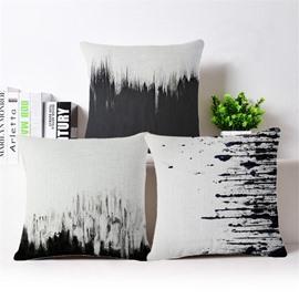 Minimalist Style Artistic Design Square Throw Pillowcase