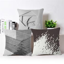 Amazing Modern Style PP Cotton Square Throw Pillowcase