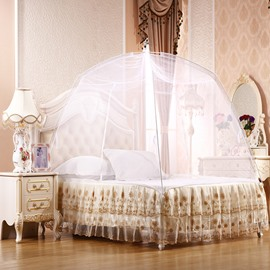 Folding Polyester Mongolian Yurt Bed Net