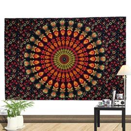 Colorful Mandala Pattern Bohemia Style Wall Tapestries