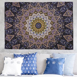 Multi-Floral Mandala Pattern Ethnic Style Wall Tapestries