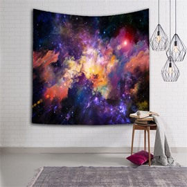 3D Colorful Clouds Galaxy Space Hanging Wall Tapestries