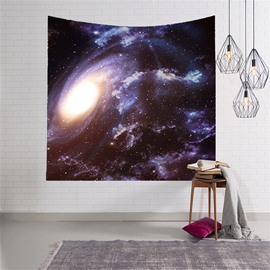 3D Colorful Clouds Galaxy Universe Hanging Wall Tapestries