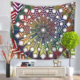 Boho Chic Mandala Prints Ethnic Style Hanging Wall Tapestry