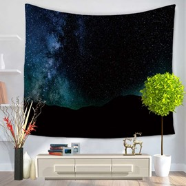 Galaxy Space and Night Sky Decorative Hanging Wall Tapestry