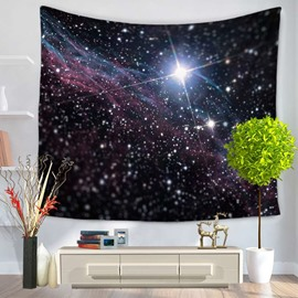 Marvelous Universe Nebula Galaxy Decorative Hanging Wall Tapestry