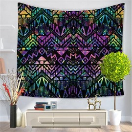 Colorful Mandala Pattern Ethnic Style Decorative Hanging Wall Tapestry