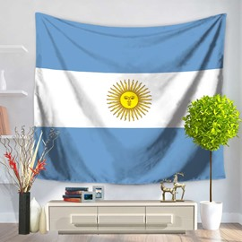The Republic of Argentina Flag Design Decorative Hanging Wall Tapestry