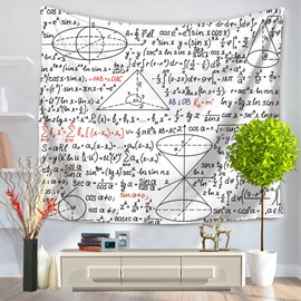 Mathematics Foundations of Geometry Pattern Decorative Hanging Wall Tapestry