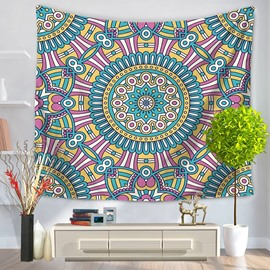 Large Indian Mandala Ethnic Style Decorative Hanging Wall Tapestry