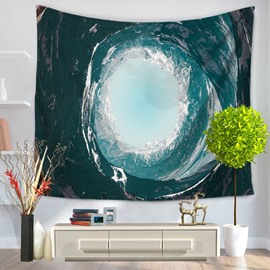 Wonderful Sea Surf Wave Pattern Decorative Hanging Wall Tapestry