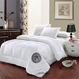 Full Size Solid Color Super Soft Cotton Winter Thick Quilts