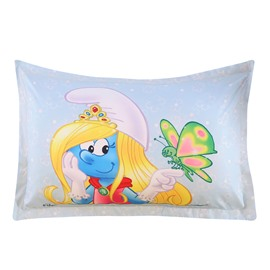 Princess Smurfette with Butterfly One Piece Bed Pillowcase