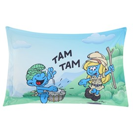 Jungle Smurf Nature Adventure Printed One Piece Bed Pillowcase