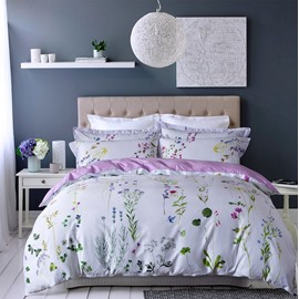 New Arrival 3D Blooming Magnolia Print 3D Fitted Sheet