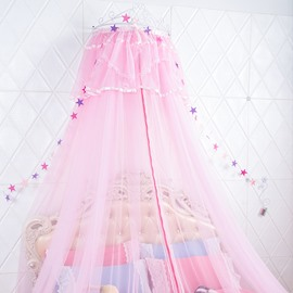 Princess Style Lighted Hanging Bed Nets/Canopy