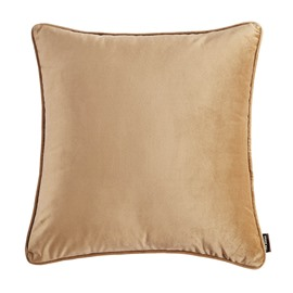 Plain Pattern Simple Style Polyester Material Stitching Technics Throw Pillow