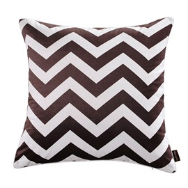 Cushion Type Polyester Material Hand Wash Cleaning Goose Down Filler Throw Pillow