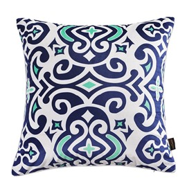 Polyester Material Goose Down Filler Stitching Technics Throw Pillow