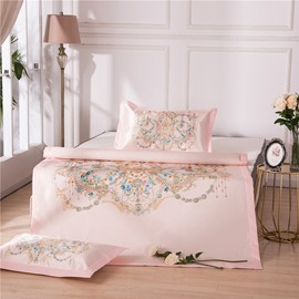 Decorative Pattern Ice Polyester Digital Printing 3-Piece Summer Sleeping Mat Sets