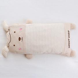 Cartoon Lamb Shape Buckwheat Filling Cotton Baby Sleeping Pillow