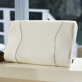 Massage Neck Protecting White Health Memory Pillow