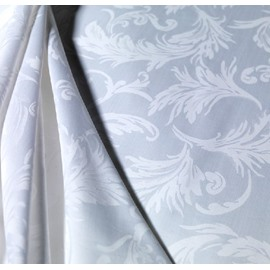 Amazing Floral Pattern Elegant Jacquard Print Full Cotton Sheet