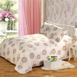 The Simple and Fresh Countryside Style Cotton Printed Sheet