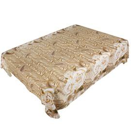 Luxury 3D Golden Rose Printed Flat Sheet