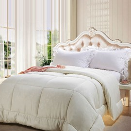 Top Grade Quality White Comfortable Skincare Quilt