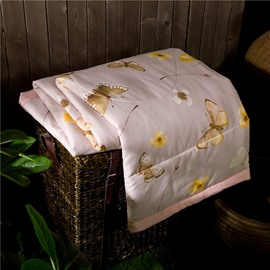 Super Soft Popular Butterfly Print Air Conditioner Quilt