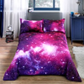 Polyester Material Star Pattern Hand Wash Cleaning Quilt