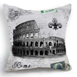 New Arrival Nostalgia Rome the Colosseum Print Throw Pillow