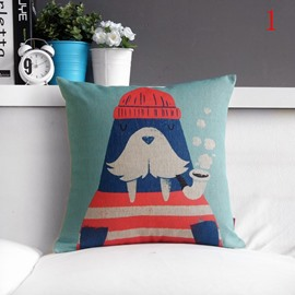 Fancy Cartoon Lovely Comfortable Throw Pillow