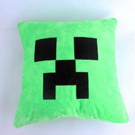High Quality Fancy Green Plush Throw Pillow