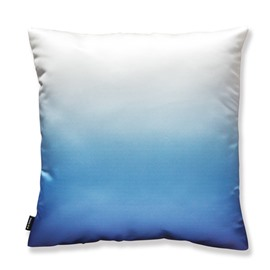Modern Stylish Gradient Color Pillow with PP Cotton Inside Soft Satin Throw Pillow