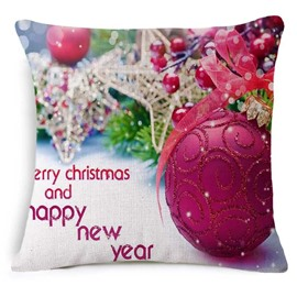 Gorgeous Christmas Decoration Print Square Throw Pillow