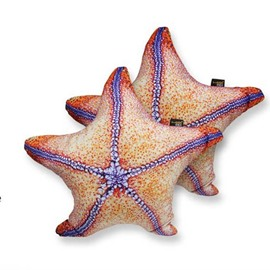 Chic 3D Starfish Shaped Decorative Throw Pillow