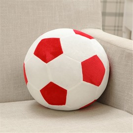 Personalized Sports Soccer Ball Shaped Decorative Pillow