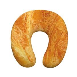 Tasteful 3D Bread Print U-Shape Memory Foam Neck Pillow