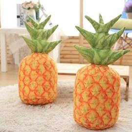 Pineapple Shape Pattern Cotton Comfortable Throw Pillow