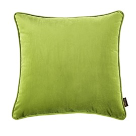 Pure Color Stitching Technics Cushion Type Polyester Material Throw Pillow