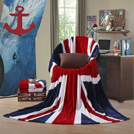 Union Jack Flag Design Soft Flannel Blanket