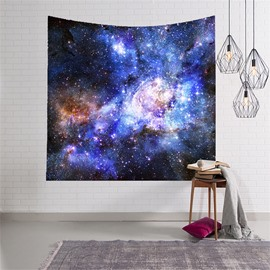 3D Cool Blue Galaxy Space Hanging Wall Tapestries