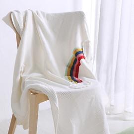 Fall Spring Season Cotton Material Towel Blanket
