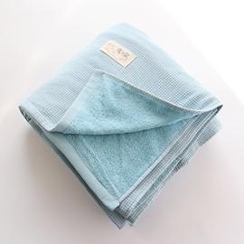 Rectangle Plain Spring Soft Cotton Towel Blanket